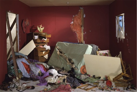 "Figure 10: Jeff Wall ""The Destroyed Room"" (1978). Transparency on lightbox. 159 cm x 234 cm"
