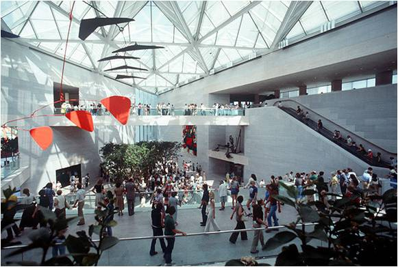 Figure 20: (interior) National Gallery of Art, Washington, East wing addition 1978