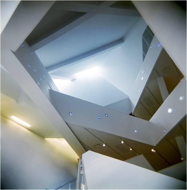 Figure 23: Denver Art Museum (detail of interior) 2006.