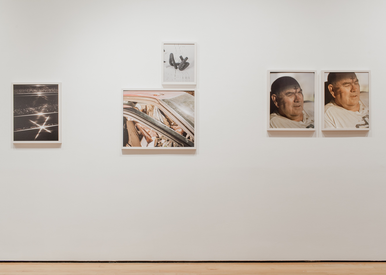 """Figure 15, Daniel Shea, """"Blisner, Ill"""". Installation at Museum of Contemporary Photography, Chicago, Il. Photographic Prints, 2012. Care of the artist"""