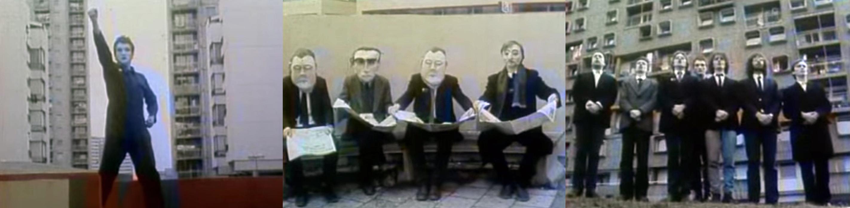 Fig 6: screenshots from the video Haustor: Pogled u BB, 1981